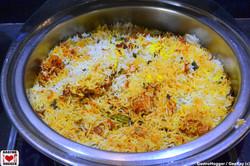 Hyderabadi Dum Gosht Biryani