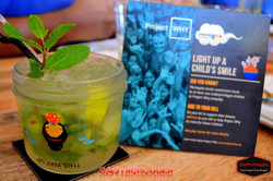 Lemon zest & Mint lemonade