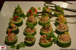 Tuna & Dutch cucumber salad