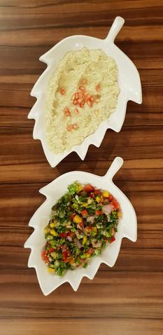 Baba Ganoush & Tabbouleh