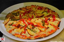 Chicken Tikka & pepper pizza