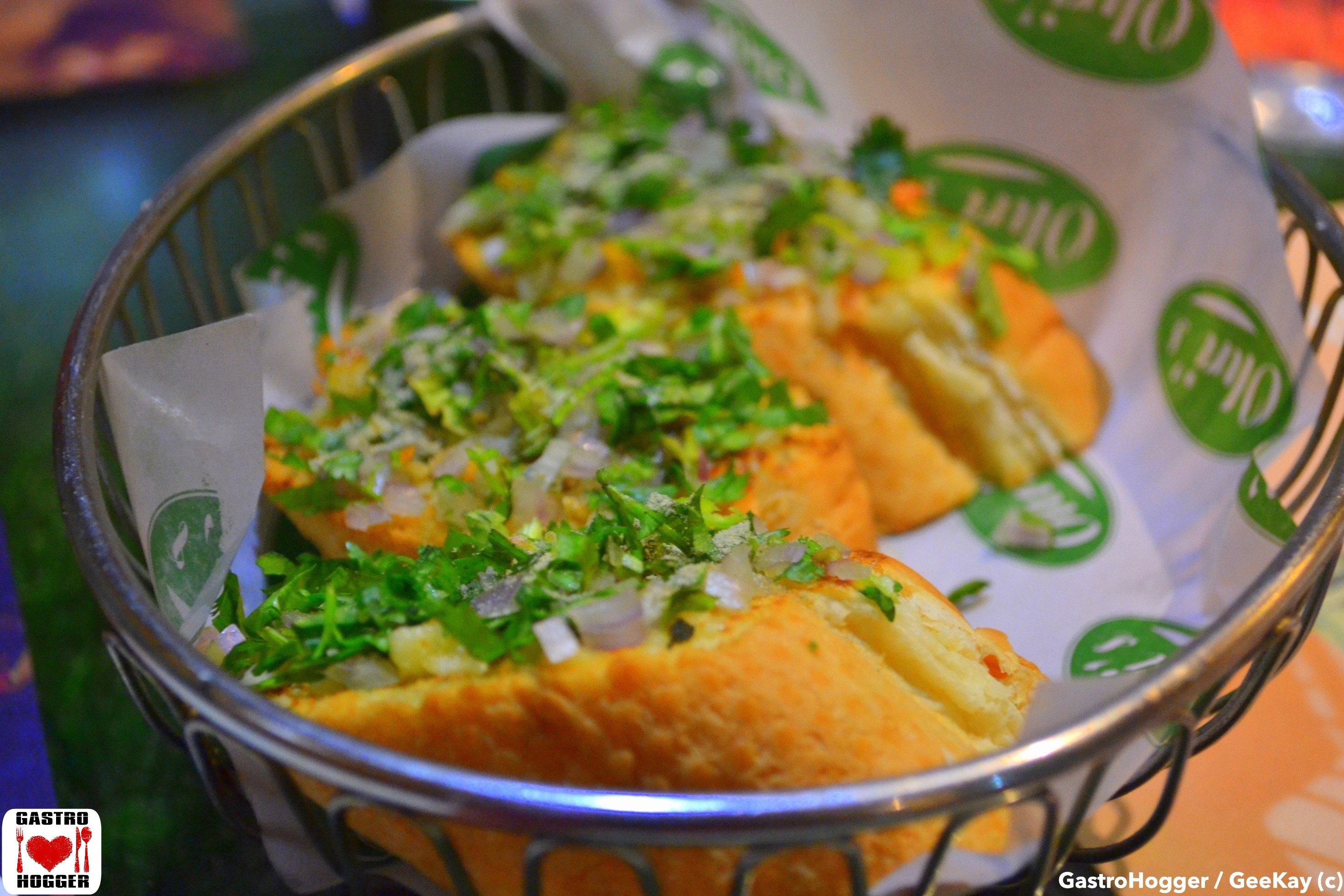 Masala Garlic Bread