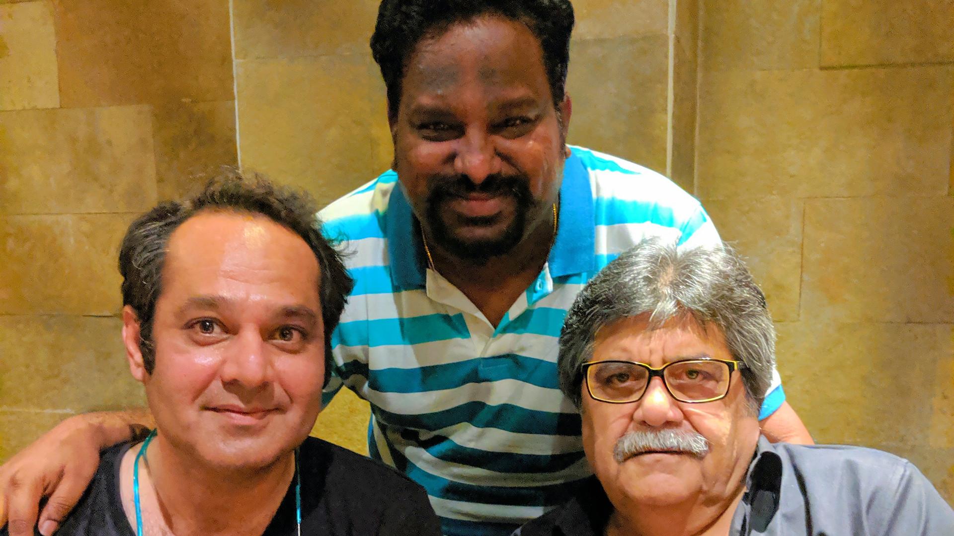 with Raashid Ali & Rocky Mohan
