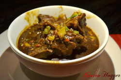 Braised Lamb tossed with 5 spice sau