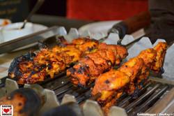 BBQ Prawns N Shikampuri Kebab