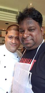 With Chef Rishi