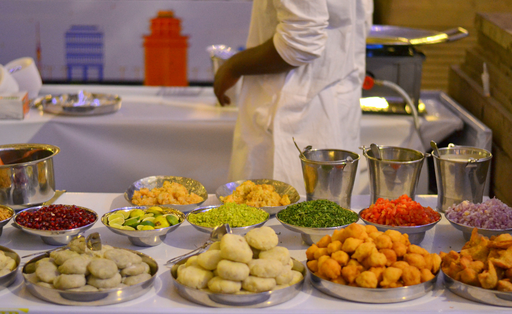 Agra Chaats Counter