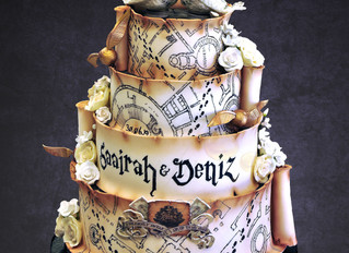A magical wedding cake