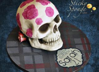 Vivienne Westwood inspired sugar skull