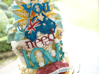 Australian All you need is Love Cake