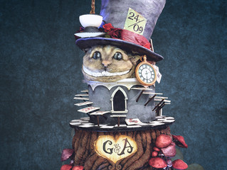 Alice in a cake wonderland