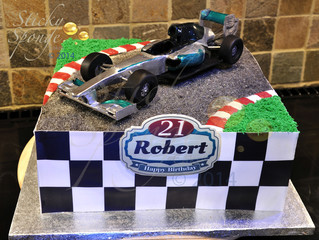Our F1 cake for a 21st birthday