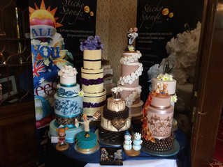 Our stand from Tell the Bride wedding Fair
