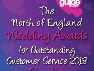 North of England Wedding Awards Finalist