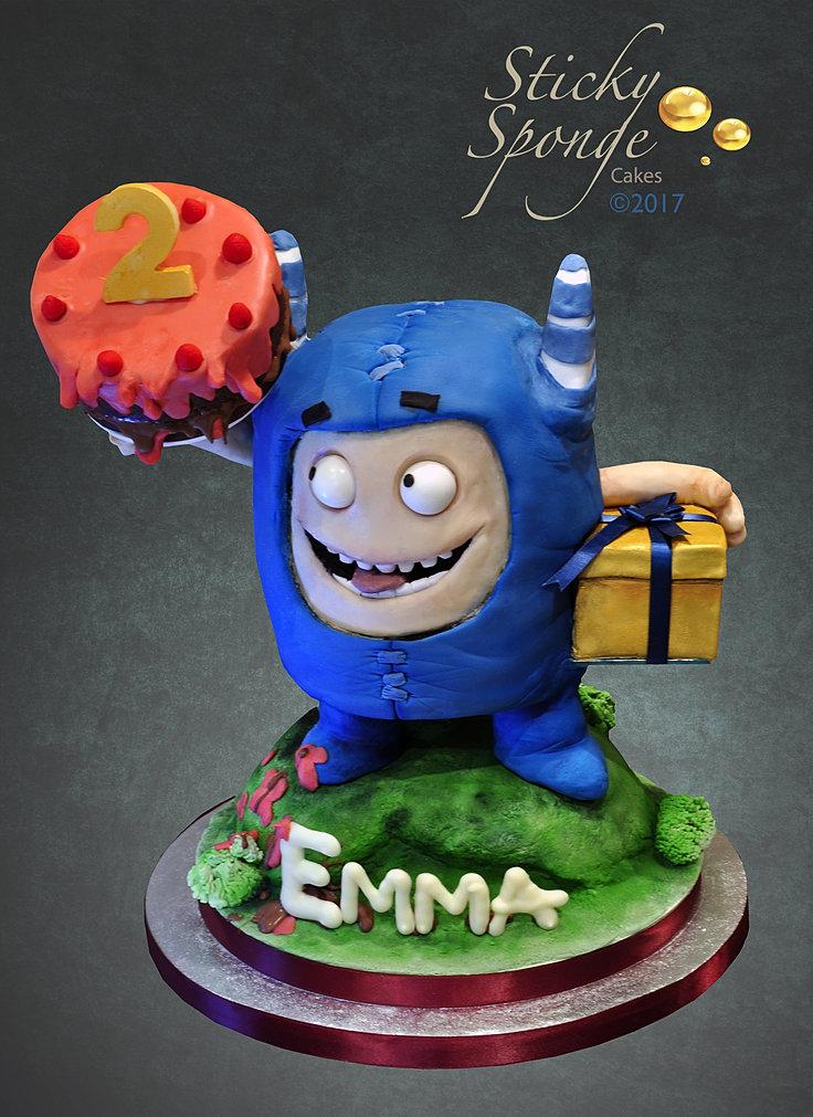 Sticky Sponge NOVELTY CAKES