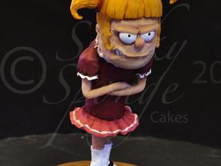 Fun Cartoon style Cake Toppers