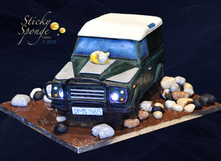 Off Road Landrover Cake