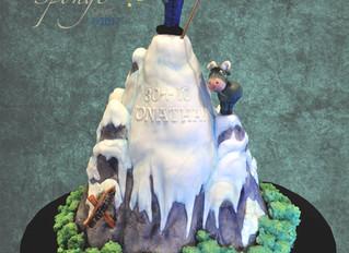 A mountain of cake!