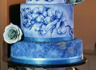 A work of art on cake