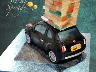 Fiat 500 Birthday cake