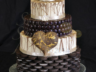 Chocolate Lovers Wedding Cake