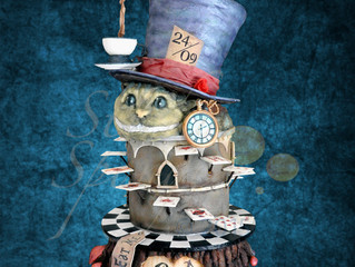 Alice in Wonderland cake goes on tour