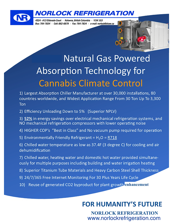 Norlock - Chiller For Cannabis Climate C