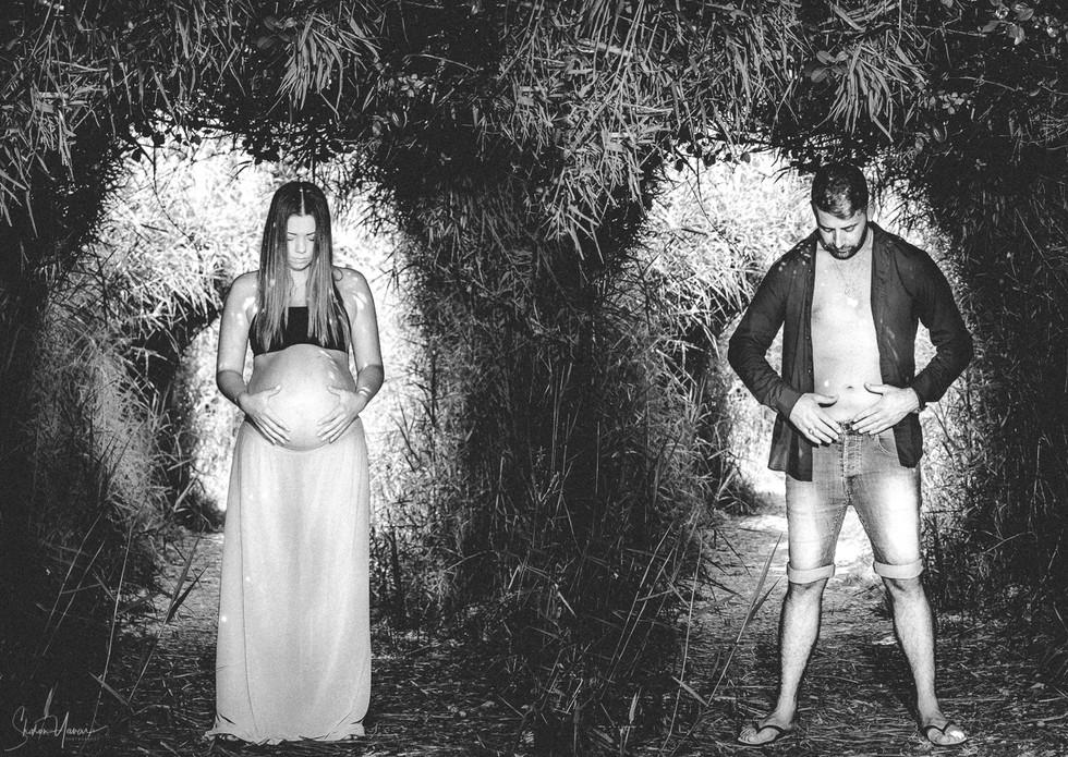 צילומי הריון זוגי