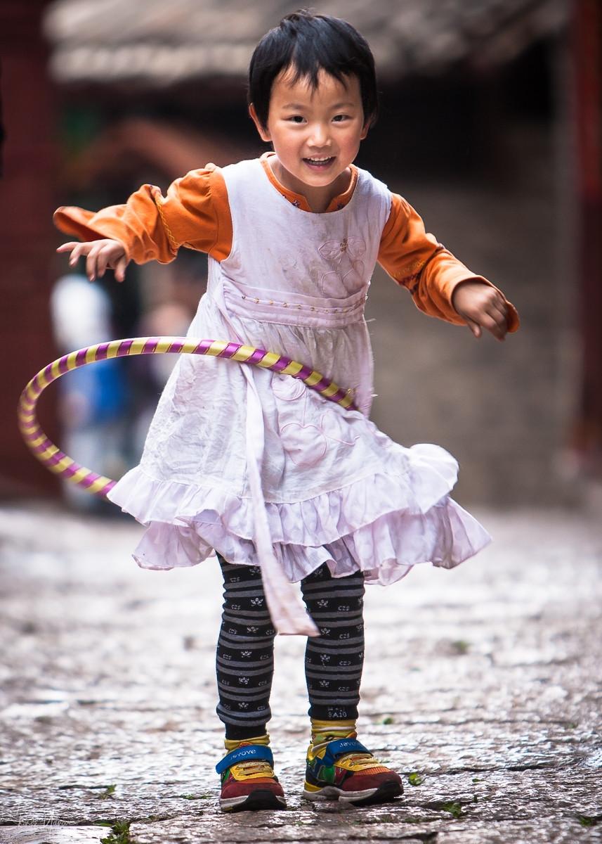 צילום ילדים בגובה העיניים