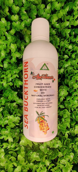 SEA BUCK THORN JHUICE OMEGA AND OTHER NUTRIENTS