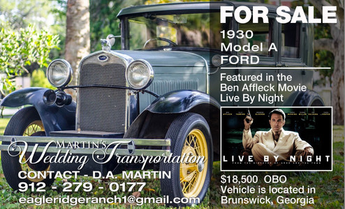 For Sale 1930 Model A