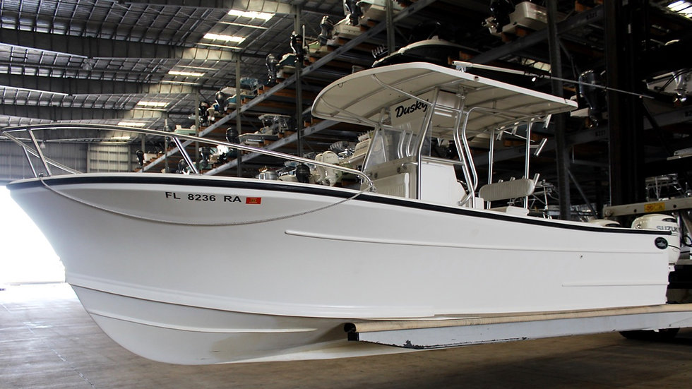 2012 Dusky 28 XL Center Console