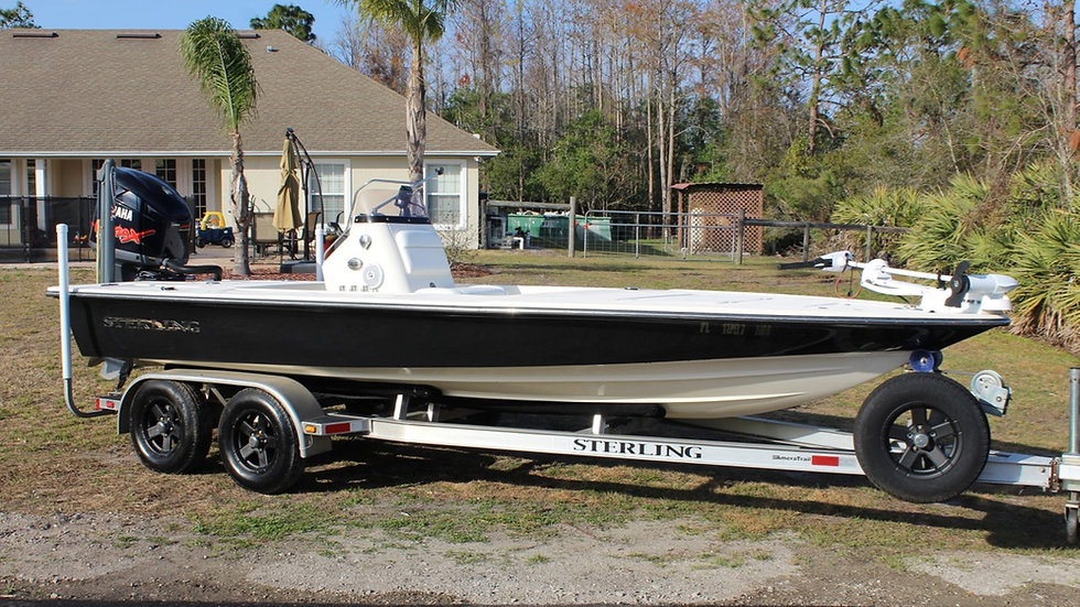 2007 Sterling 200XS Bay Boat