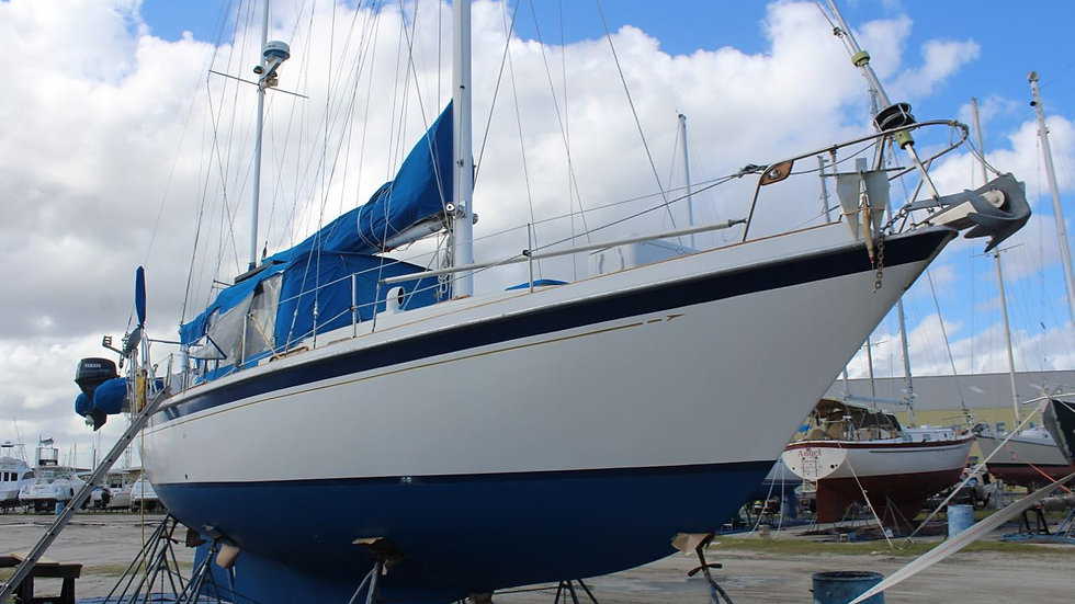 39' Allied Mistress Bluewater Sailboat