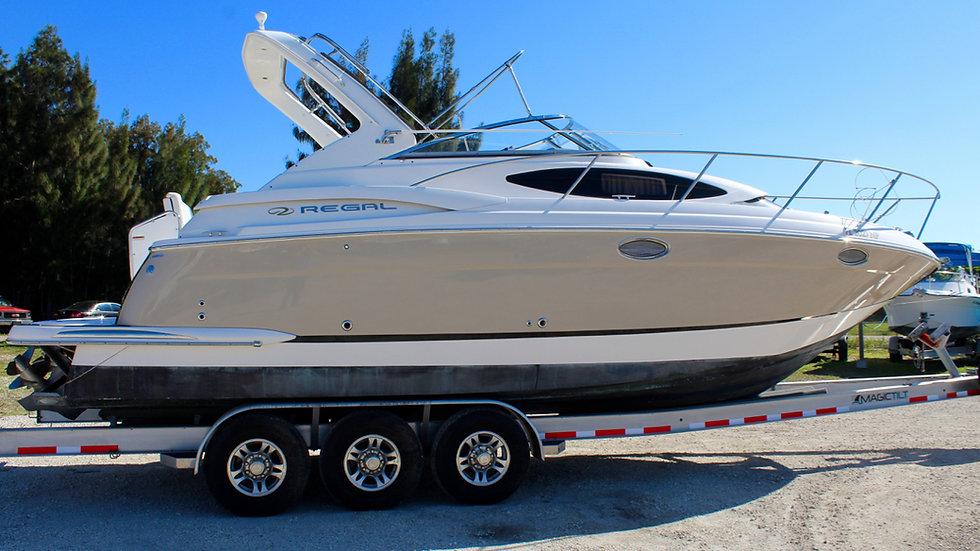2007 Regal 3060 Cabin Cruiser