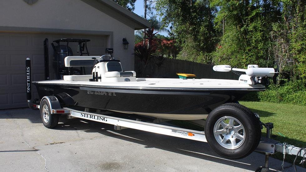 18' Sterling 180 TS Flats Boat 2015