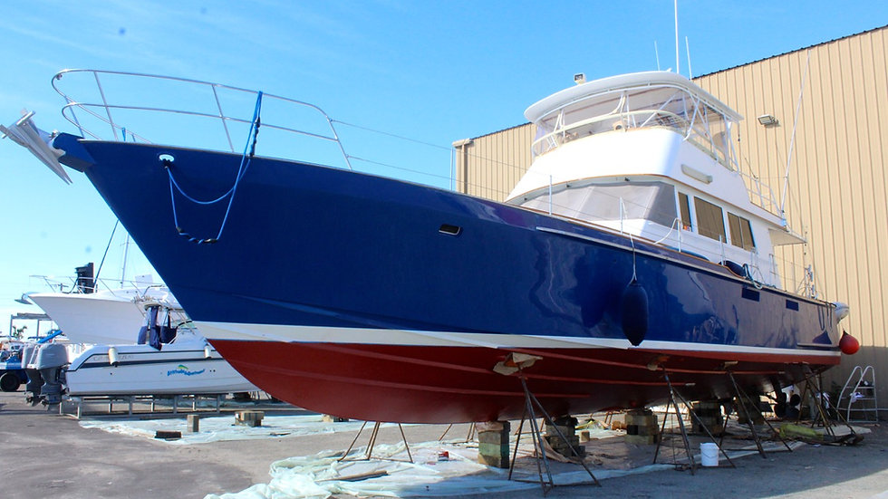 60' Gladding Hearn Flybridge Sportfisher
