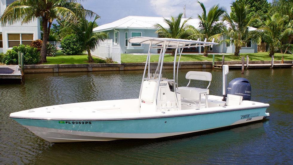 2014 Pathfinder 2200 Bay Boat