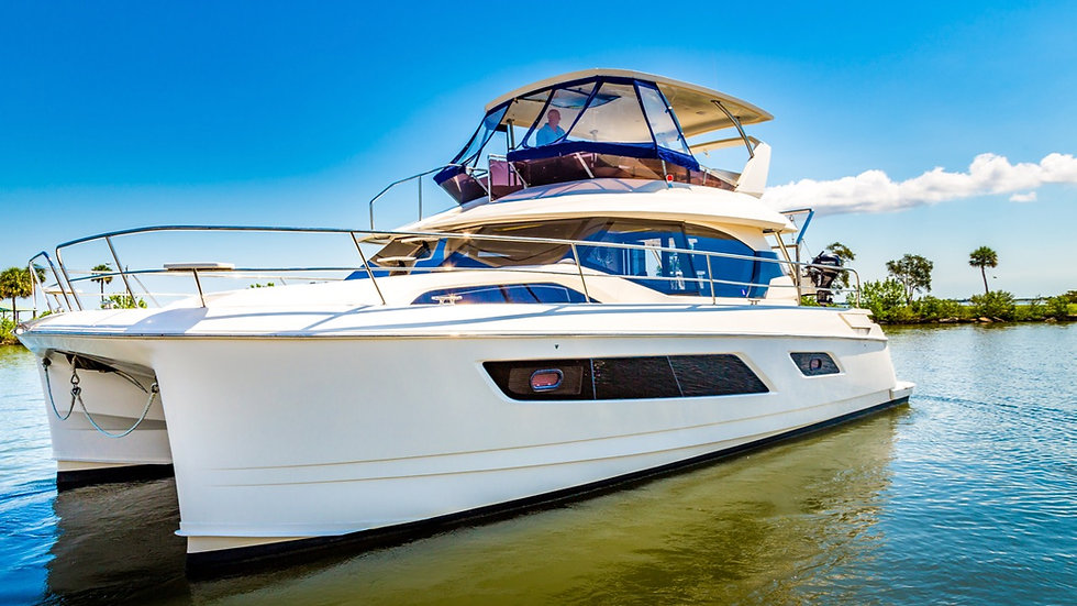 2015 Aquila 44 Power Catamaran