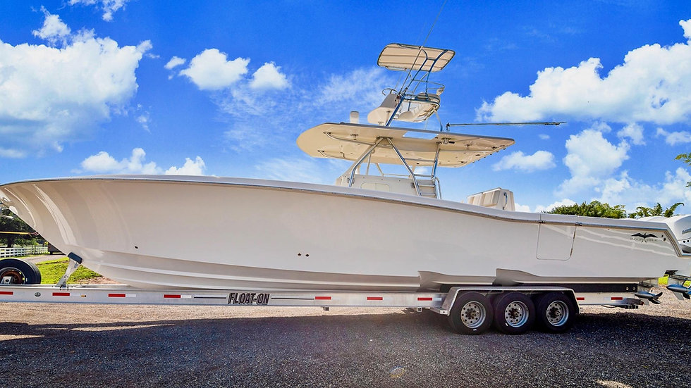 2014 Invincible 42 Re-Powered