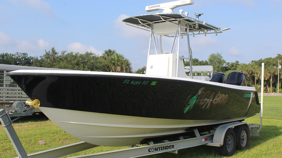 2012 Contender 25T Center Console