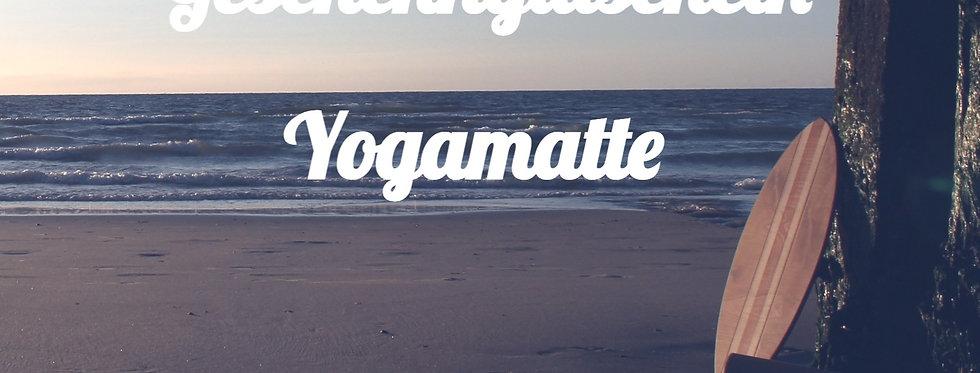 Geschenkgutschein Yogamatte