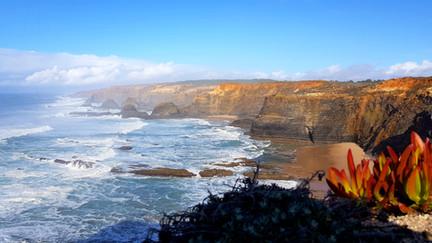 Küstenabschnitt in Portugal