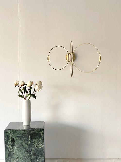 Elish Warlop '3 Rings' wall sconce