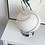 Thumbnail: Vetri Murano frosted glass swirl lamp