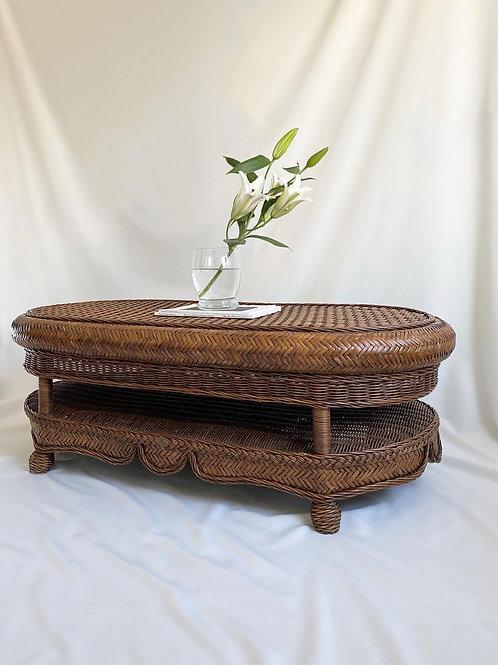 Boca Rattan coffee table