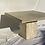 Thumbnail: Square travertine dining table