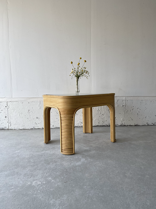 Pencil reed side table