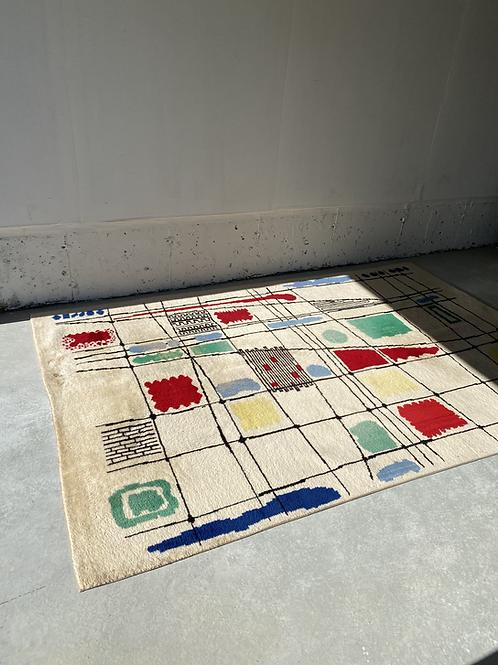 1960s Parisian area rug