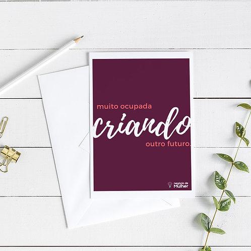 Poster Criando A3